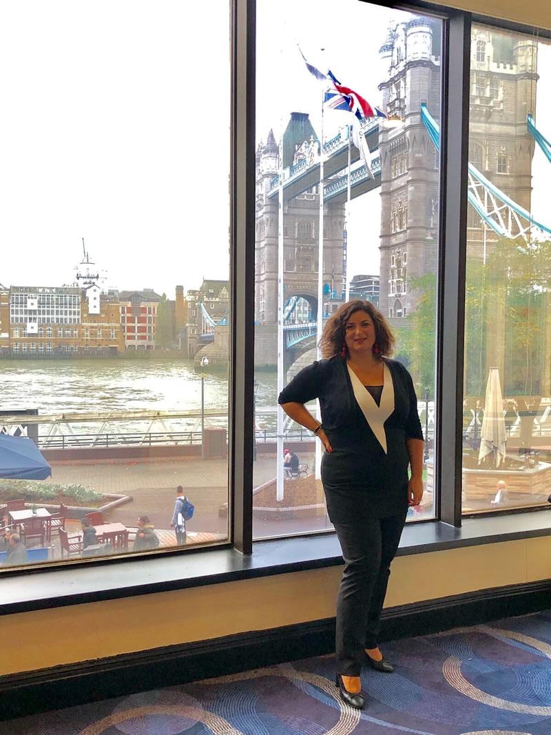 Luciana Scrofani Green English Italian interpreting London