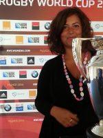 Luciana Scrofani Green English Italian Interpreting rugby World Cup 2014
