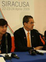 Luciana Scrofani Italian interpreting G8 Siracusa 2009
