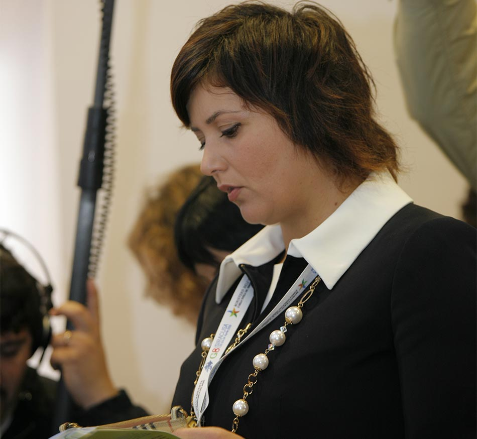 Luciana Scrofani Green English Italian Interpreting and event management for G8