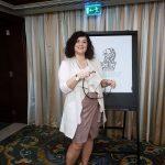 Luciana Scrofani Green Italian Interpreting in Abu Dhabi January 2017
