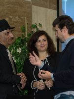 Luciana Scrofani Italian interpreting Ashraf Habibullah