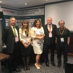 Luciana SG interpreting at the 24th Global Dentistry Annual Meeting June 2018