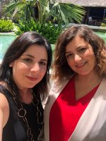 LSG interpreting in Mauritius with a lovely colleague - March 2019